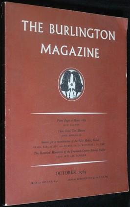 náhled knihy - The Burlington Magazine October 1969