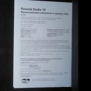 antikvární kniha Pinnacle Studio 10. Názorný průvodce nahráváním a úpravou videa, neuveden
