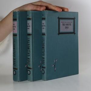 náhled knihy - The Forsyte Saga. 1. - 3. díl. (komplet, 3 svazky, viz foto)