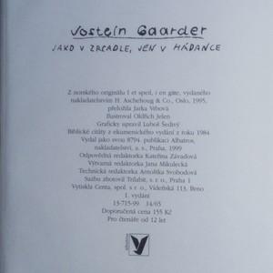 antikvární kniha Jako v zrcadle, jen v hádance, 1999