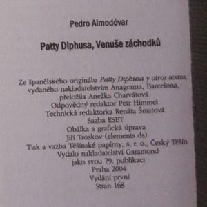 antikvární kniha Patty Diphusa, Venuše záchodků, 2004