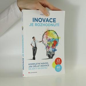 náhled knihy - Inovace je rozhodnutí