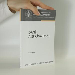 náhled knihy - Daně a správa daní