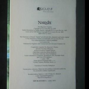 antikvární kniha Letopisy Narnie. Čarodějův synovec, 2005