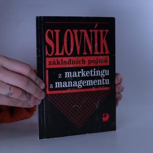 náhled knihy - Slovník základních pojmů z marketingu a managementu