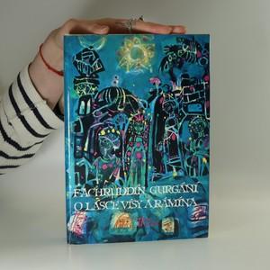 náhled knihy - O lásce Vísy a Rámína