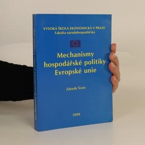 náhled knihy - Mechanismy hospodářské politiky Evropské unie