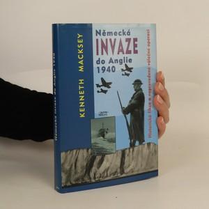 náhled knihy - Německá invaze do Anglie 1940