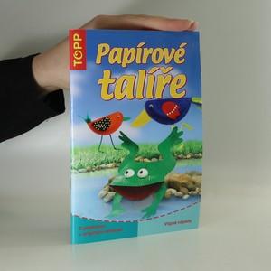 náhled knihy - Papírové talíře