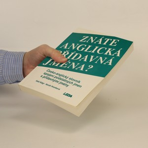 antikvární kniha Znáte anglická přídavná jména? Česko-anglický slovník spojení podstatných jmen s přídavnými jmény, 1994