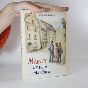 náhled knihy - Martin už není Martínek