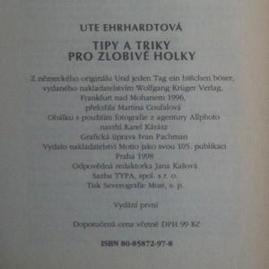 antikvární kniha Tipy a triky pro zlobivé holky, 1998