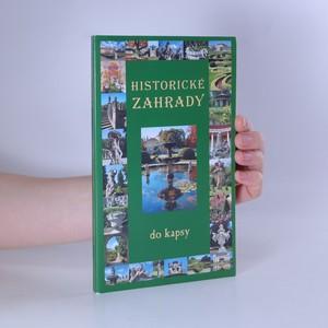náhled knihy - Historické zahrady