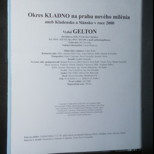 antikvární kniha Okres Kladno na prahu nového milénia aneb Kladno a Slánsko v roce 2000, 2000