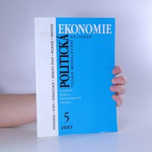 náhled knihy - Politická Ekonomie (55. ročník, 2007/5)