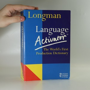 náhled knihy - Longman language activator : the world's first production dictionary