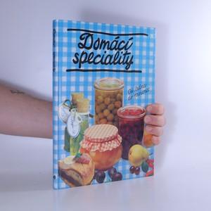náhled knihy - Domácí speciality