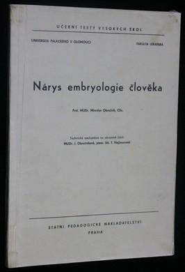 náhled knihy - Nárys embryologie člověka