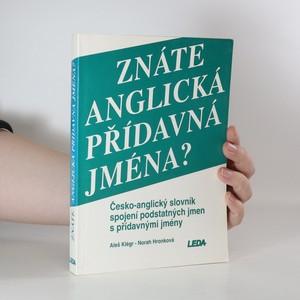 náhled knihy - Znáte anglická přídavná jména? Česko-anglický slovník spojení podstatných jmen s přídavnými jmény