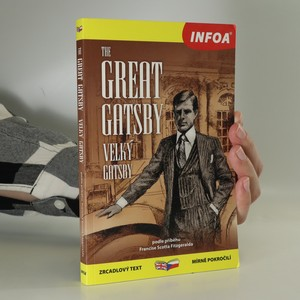 náhled knihy - The great Gatsby. Velký Gatsby