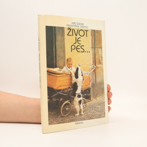 náhled knihy - Život je pes - obrázková knížka pro lidská štěňata
