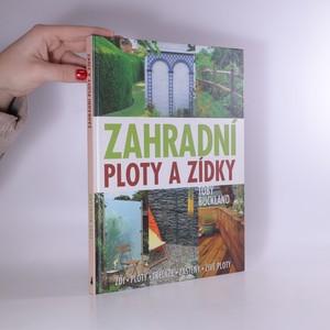 náhled knihy - Zahradní ploty a zídky