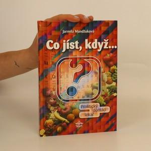 náhled knihy - Co jíst, když...
