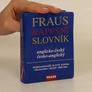 náhled knihy - Kapesní slovník anglicko-český, Česko-anglický