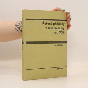 náhled knihy - Řešené příklady z matematiky pro VŠE