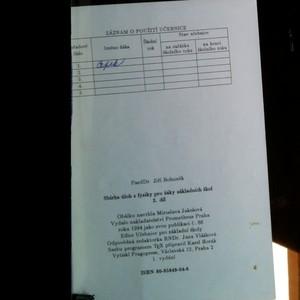 antikvární kniha Sbírka úloh z fyziky pro žáky základních škol. 3. díl, 1994