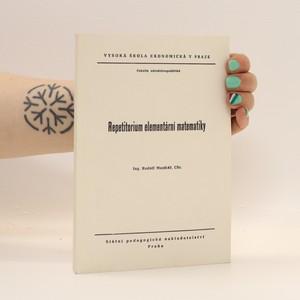 náhled knihy - Repetitorium elementární matematiky