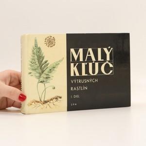 náhled knihy - Malý kľúč výtrusných rastlín I.