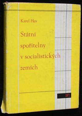 náhled knihy - Státní spořitelny v socialistických zemích : Určeno prac. finančních orgánů a stud. škol ekon. směru