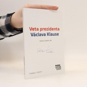 náhled knihy - Veta prezidenta Václava Klause