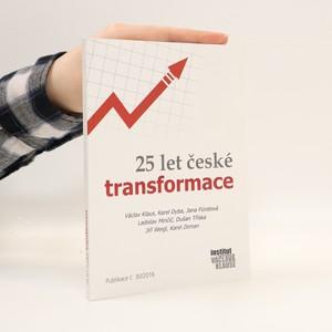 náhled knihy - 25 let české transformace