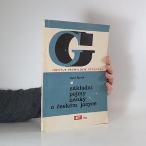 náhled knihy - Základní pojmy nauky o českém jazyce