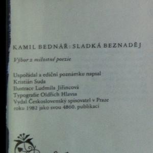 antikvární kniha Sladká beznaděj : Výbor z milostné poezie, 1982
