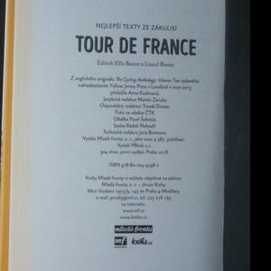 antikvární kniha Tour de France. Nejlepší texty ze zákulisí, 2018