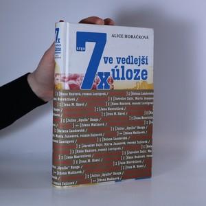 náhled knihy - 7x ve vedlejší úloze