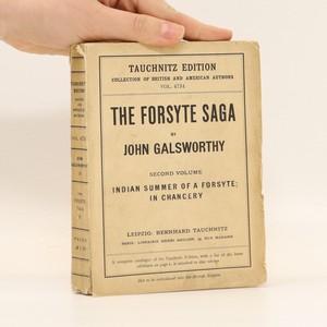 náhled knihy - The Forsyte saga Vol. 2
