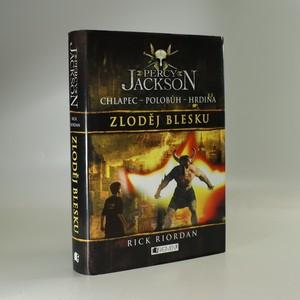 náhled knihy - Percy Jackson. Zloděj blesku. První díl