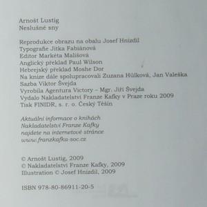 antikvární kniha Neslušné sny. Indecent dreams. Chalomot megunim, 2009