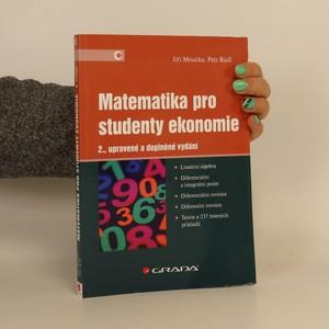 náhled knihy - Matematika pro studenty ekonomie