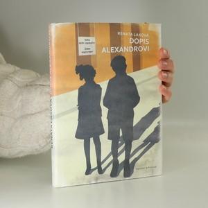 náhled knihy - Dopis Alexandrovi