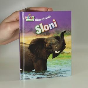 náhled knihy - Sloni. Úžasný svět