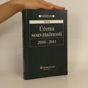 náhled knihy - Účetní souvztažnosti 2010-2011