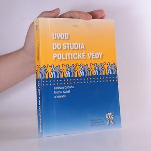 náhled knihy - Úvod do studia politické vědy