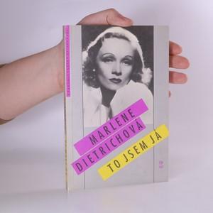 náhled knihy - Marlene Dietrichová. To jsem já