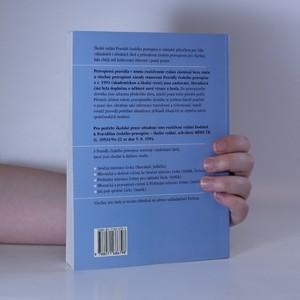 antikvární kniha Pravidla českého pravopisu. Školní vydání včetně Dodatku, 1999