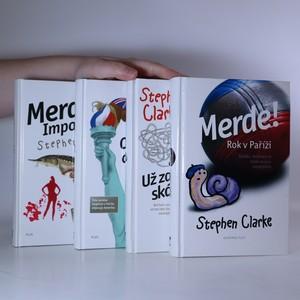 náhled knihy - Merde! 1. - 4. díl. (4 svazky)
